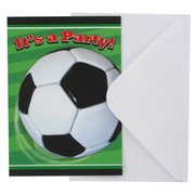 Soccer Party Invitations - Soccer Ball Pk8