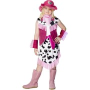 Rodeo Girl Child Costume (Large, 9-12 Yrs) Pk 1