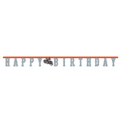 Cycle Shop 2.2m Jointed Birthday Banner Pk 1