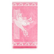 Pink Dove & Cross Tablecover Pk 1