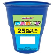 Royal Blue Plastic Cups (9oz-270ml) Pk 25