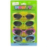 Party Favours - Flashy Sunglasses Pk 4