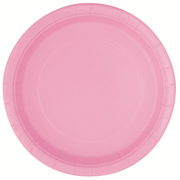 Lovely Light Pink 7in Paper Plates Pk 8