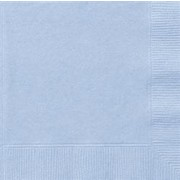 Baby Blue Lunch Napkins Pk 20