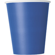 Royal Blue Cups (9oz) Pk 8