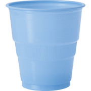 Baby Blue Plastic Cups (9oz-270ml) Pk 12