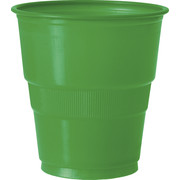 Emerald Green Plastic Cups (9oz / 270ml) Pk 12