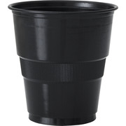 Black Plastic Cups (9oz-270ml) Pk 12