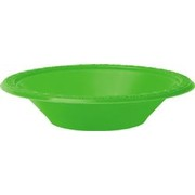Lime Green Bowls (172mm) Pk 8