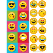 Show Your Emojions Emoji Stickers (4 Sheets of Stickers)