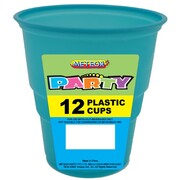 Caribbean Teal Cups 9oz. (270ml) Pk 12