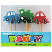 Candle Picks Cars Pk6