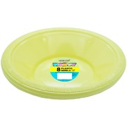 Soft Yellow Bowls (178mm) Pk 8