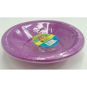 Pretty Purple Bowls (178mm) Pk 8