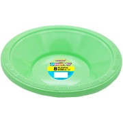Apple Green Bowls (178mm) Pk 8