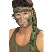 Army Camo Headband Pk1 (Headband Only)