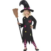 Cinder Witch Child Costume (Medium, 7-9 Yrs) Pk 1