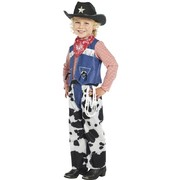 Child Ropin' Cowboy Costume - Medium 7-9 Yrs