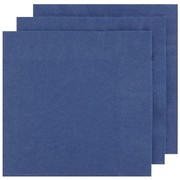 Navy Blue Party Napkins - Dinner 2 ply Pk100
