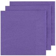 Purple Party Napkins - Dinner 2 ply Pk100