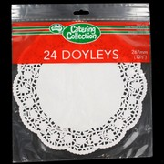 White Round Doilies 267mm Pk24