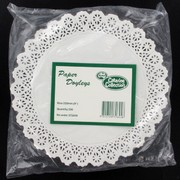 White Round Doilies 228mm Pk250