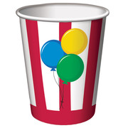 Circus Time 9oz Paper Cups Pk 8