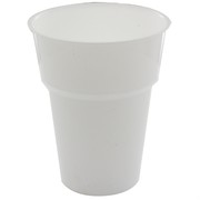 White Plastic Cups - 285ml Pk25