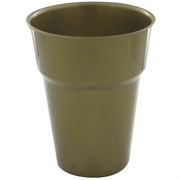 Gold Plastic Cups - 285ml Pk25