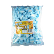 Blue & White Heart Marshmallows (1kg)