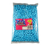 Blue Chocolate Buttons (1kg)