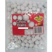 White Colour Milk Chocolate Balls (1kg)
