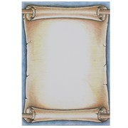 A4 Sheet Scroll Pirate Pk25