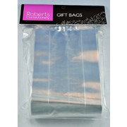 Clear Gift Bags (10x30cm) Pk 50