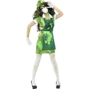 Biohazard Woman Adult Costume (Small, 8-10)