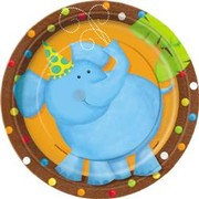 Jungle Party 7in (17cm) Paper Plates Pk 8