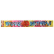 Banner Happy 40 Birthday 365x12cm Pk1