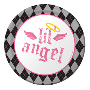 First Angel Paper Plates (7in - 17cm) Pk 8