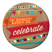 Kraft Let's Celebrate Paper Plates (7in.) Pk 16