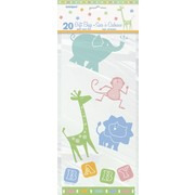 Animal Crackers Cello Bags Pk 20