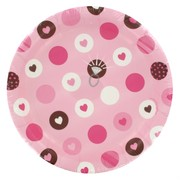 Bride To Be Party Plates - Small 17.1cm Bride 2 Be Dots Pk8