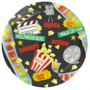 Lights Camera Action Party Plates - Small 17.1cm Pk8