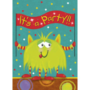 Alien Fun Invitations Pk 8