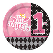 First Angel Paper Plates (9in-22cm) Pk 8