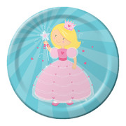 Fairytale Princess Paper Plates (9in-22cm) Pk 8