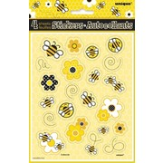 Busy Bees Sticker Sheets Pk 4