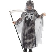 Ghostly Ghoul Child Halloween Costume (Medium, 7-9 Yrs) Pk 1