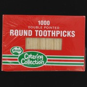 Toothpicks - Round 2 point Pk1000