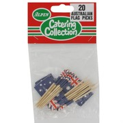 Australian Flag Picks Pk20