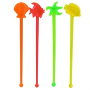 Assorted Marine Swizzle Sticks Pk 100